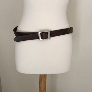 Accessories - NY Jeans Brown Belt.